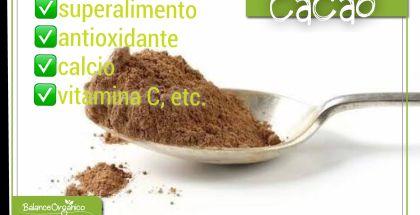 Conoces los beneficios del cacao?