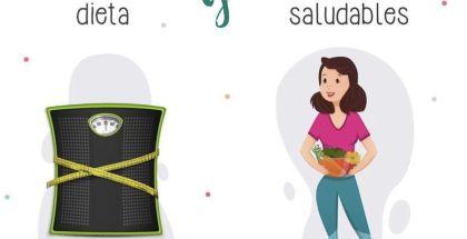 DIFERENCIA ENTRE HACER DIETA Y CREAR HÁBITOS SALUDABLES