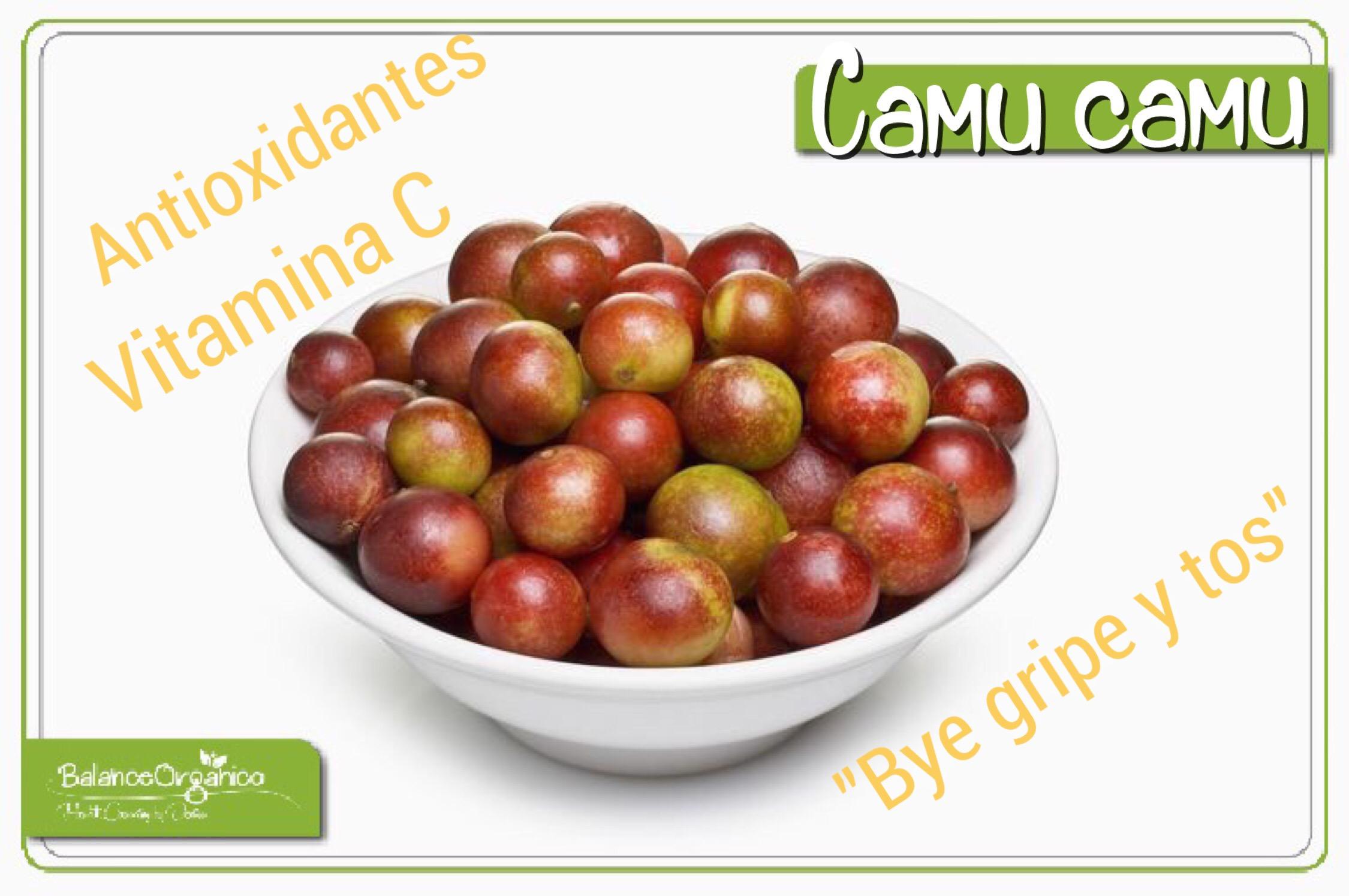 Has probado el Camu camu?